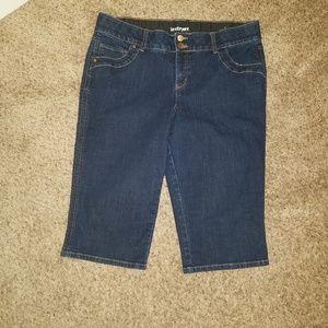 Lane Bryant Sz 16 Capri Pants Clam Diggers